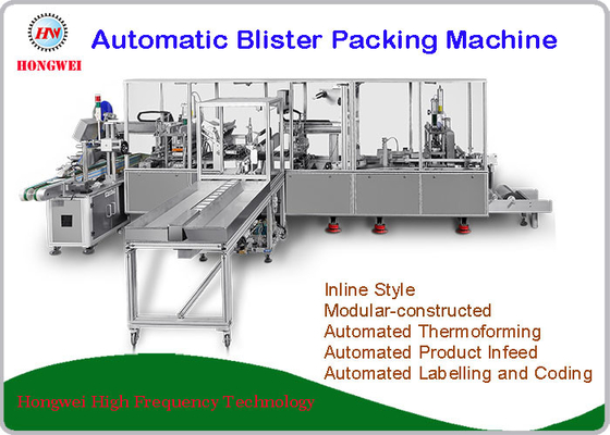 380V/50Hz Automatic Blister Packing Machine Customized Dimensions