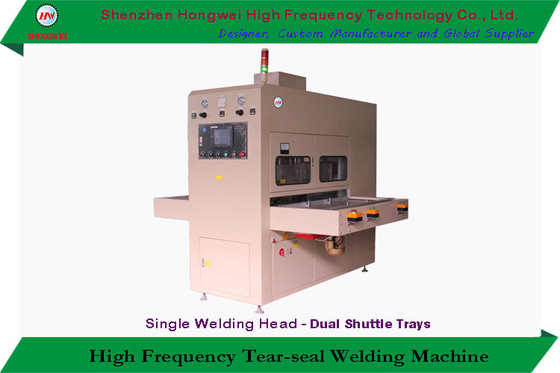 Semi Automatic High Frequency Plastic Welding Machine HF Heating For Blister Pack